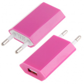 base-chargeur-plug-iphone-5C-rose