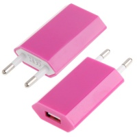 base-chargeur-plug-iphone-4-rose