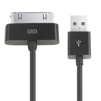 cable-charge-synchronisation-noir-iphone-4S