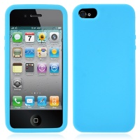 coque-silicone-bleu-iphone-5S