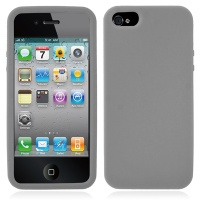 coque-silicone-gris-iphone-5S