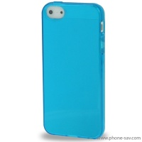 coque-silicone-bleu-iphone-5