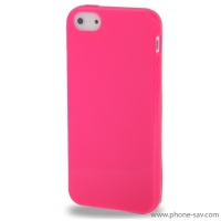 coque-silicone-rose-iphone-5