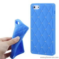 coque-silicone-strass-bleu-iphone-5